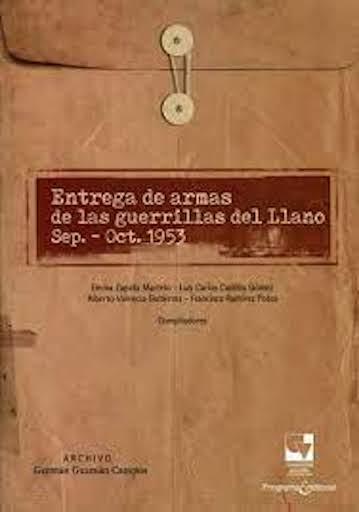 Entrega de armas de las guerrillas