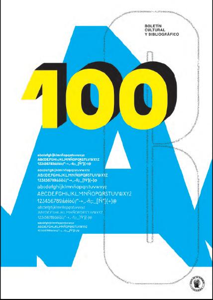 Boletín cultural y bibliográfico No 100