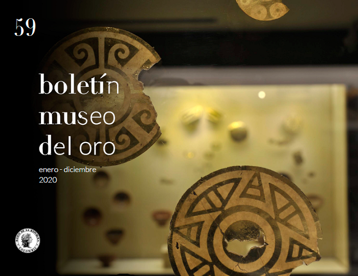 Vitrina del Museo del Oro Nariño en Pasto. Foto: Antonio Castañeda Buraglia.