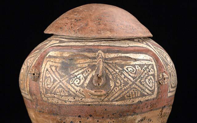 Urna funeraria del valle del Magdalena, período Tardío. C00936