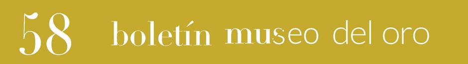 Boletín Museo del Oro