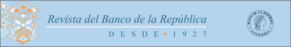 Banner Revista del Banco de la República